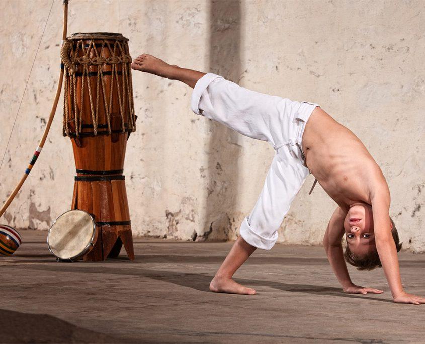 Capoeira per a infants i joves a l'Ateneu