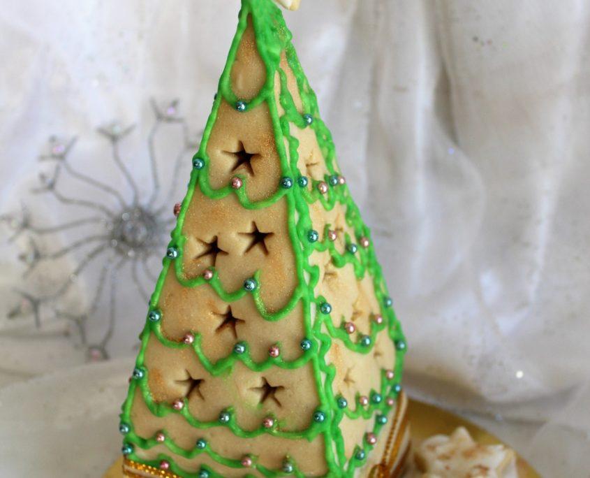 Tartas de luna llena - Galetes 3D Arbres de Nadal