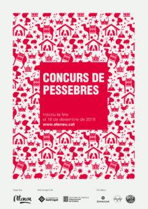 Cartell Concurs de Pessebres 2018 de Sant Cugat
