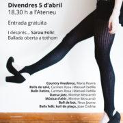 L'Ateneu Dansa 2019, mostra de dansa a l'Ateneu de Sant Cugat