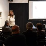 Patricia Robledo a la conferencia Ateneu