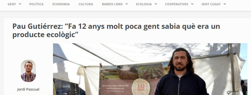 L'hort d'en Pau, Mercat de Pagès