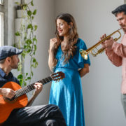 Ana Rossi, Ramiro Pinheiro i Àlvar Monfort