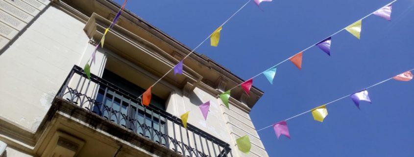 Ateneu façana Festa Major