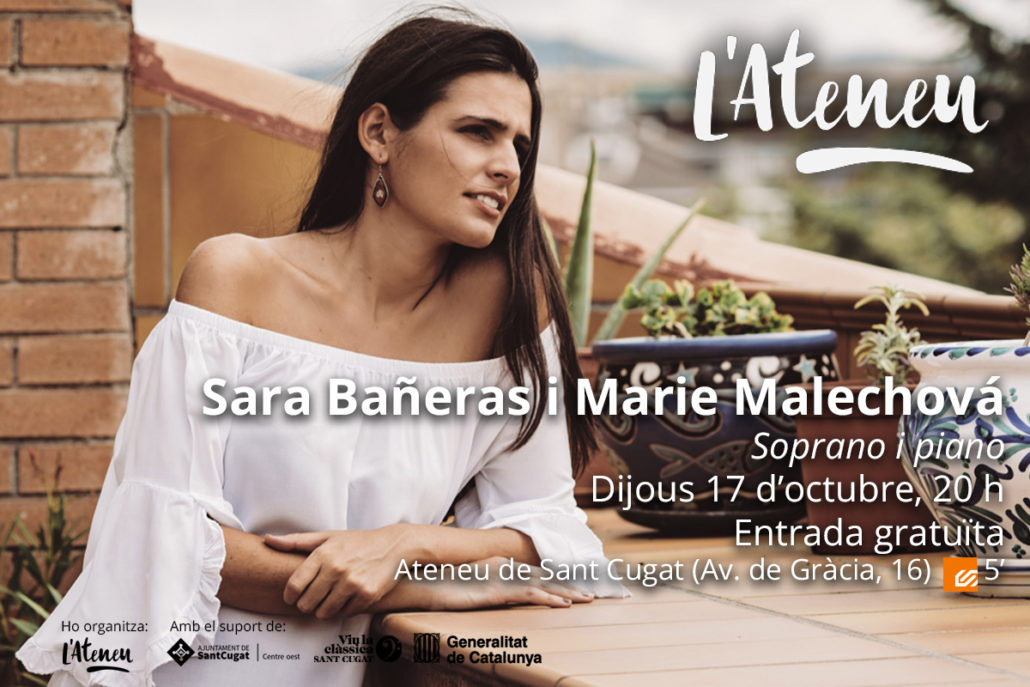 Sara Bañeras i Marie Malechova