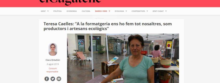 El Cugatenc: formatgeria ecològica