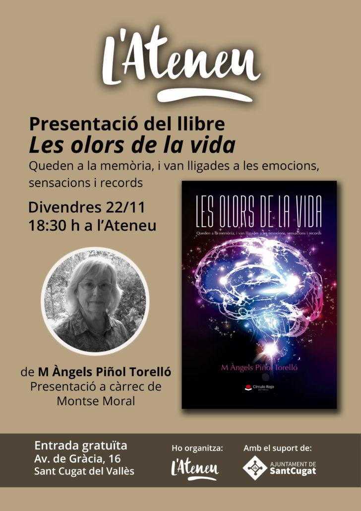 Presentació llibre Les olors de la vida