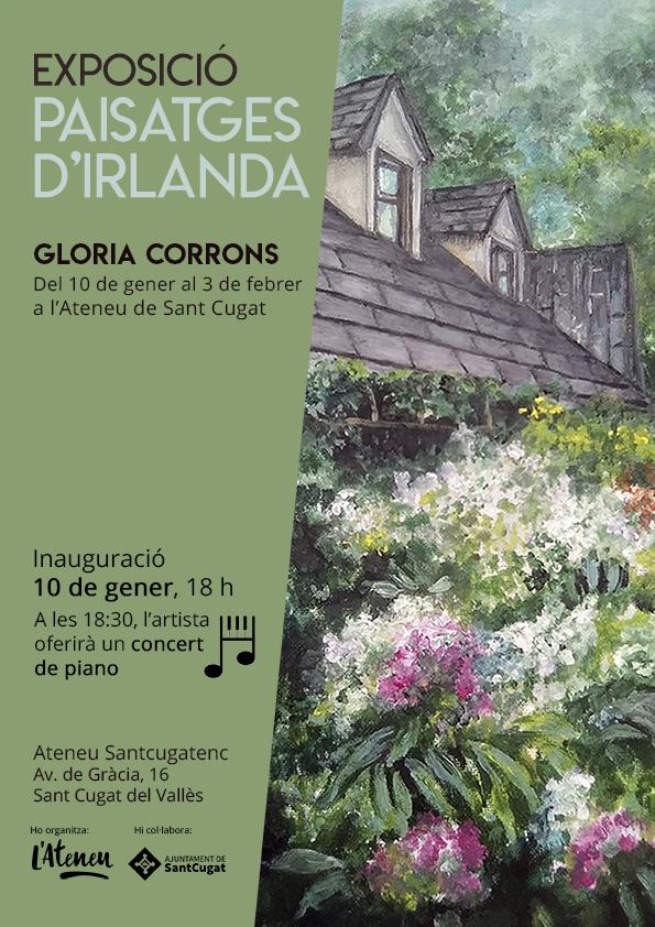Exposició Gloria Corrons Paisatges Irlanda