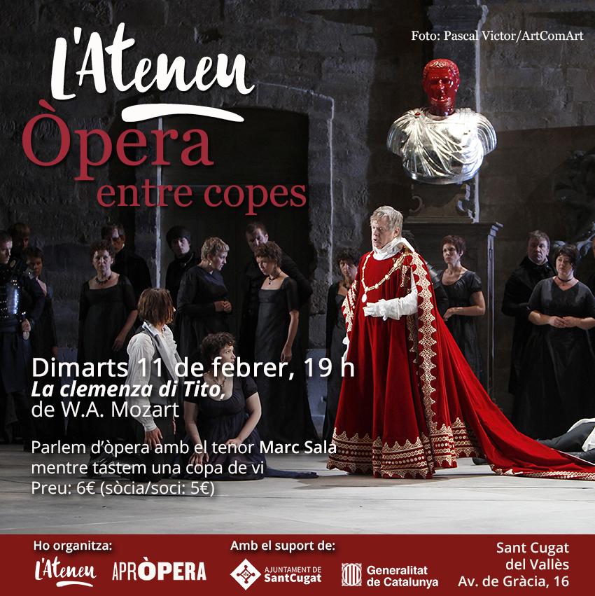 Òpera entre copes: La clemenza di Tito