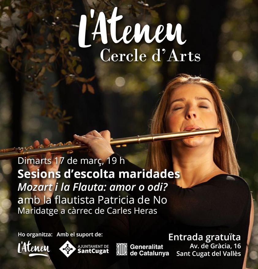 Cercle d'arts Patricia de No Mozart Flauta